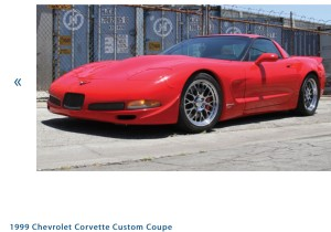 1999 Chevrolet Corvette Custom Coupe Photo Credit: Auctions America