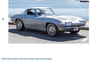 1963 Chevrolet Corvette Fuel Injected Coupe Photo Credit: Auctions America
